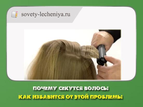 01-Почему секутся волосы