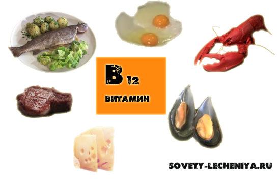 Витамин В12 полезные свойства