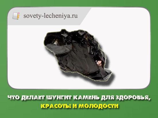 Шунгит камень